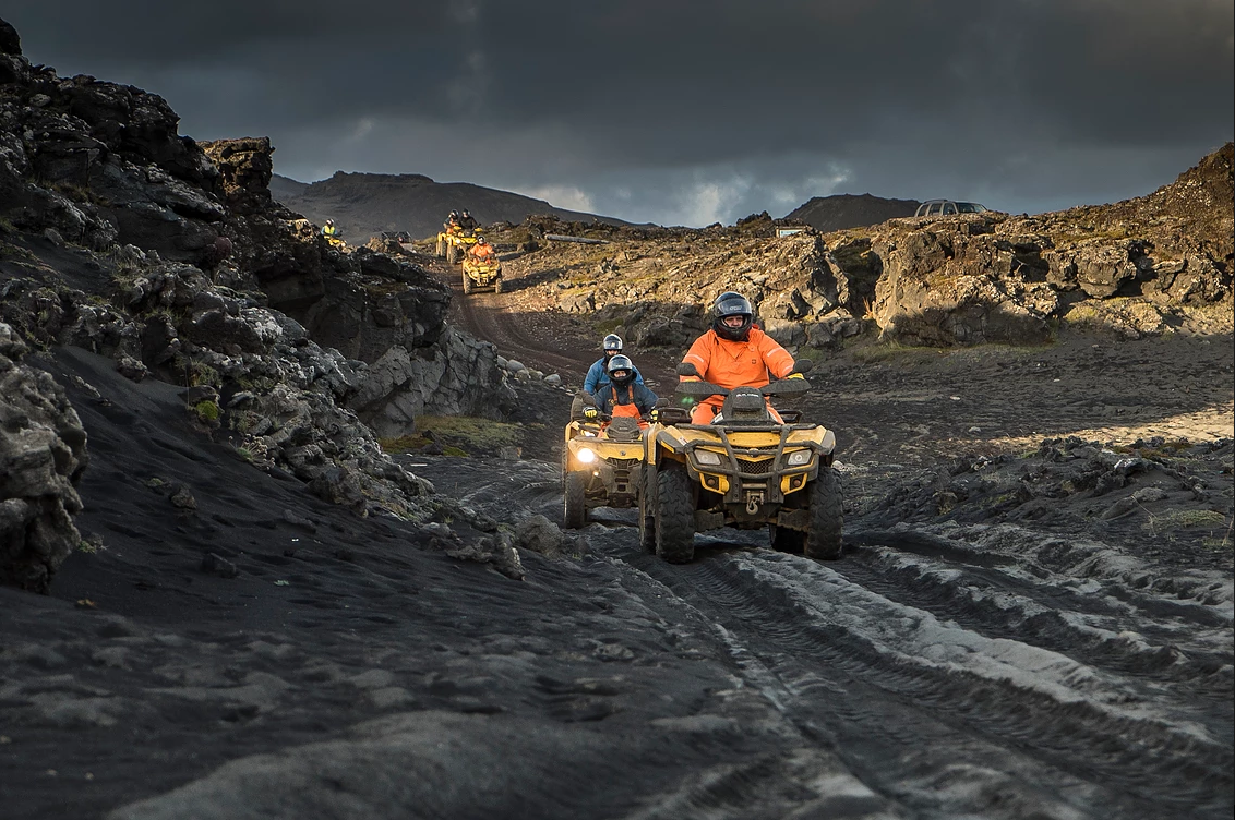 volcanic safari full day atv quad tour everything iceland. Black Bedroom Furniture Sets. Home Design Ideas