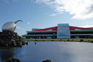 Iceland international airport: Flugstöð Leifs Eiríkssonar